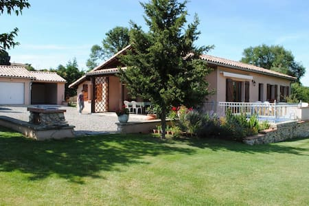 Holiday house independent Le Carret - Auzas - Talo