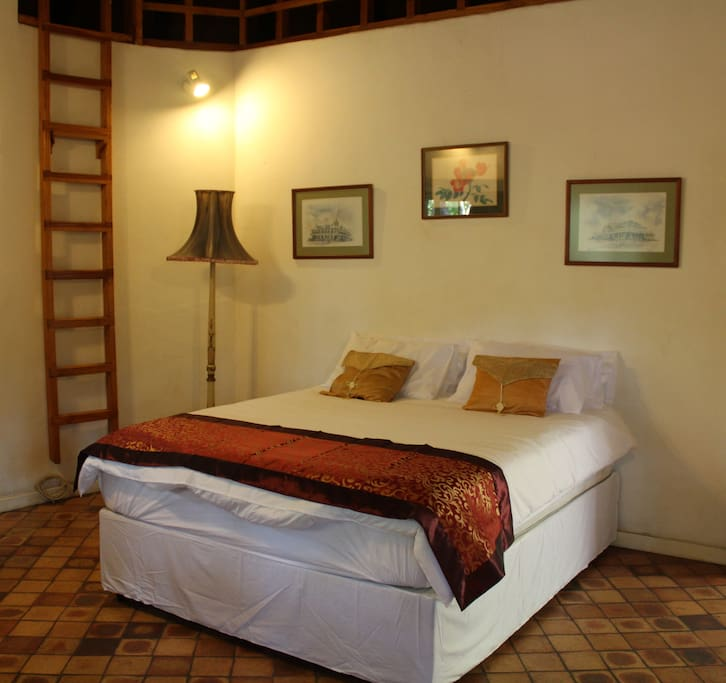 Main bedroon. Open loft area could also sleep two people.