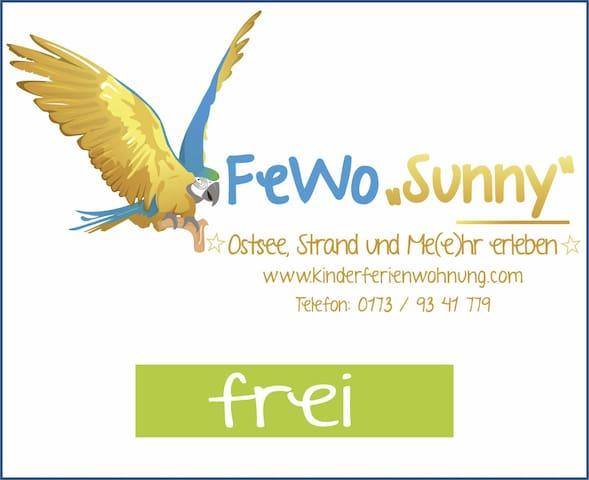 "Fe/Wo ""Sunny"", Ostsee, Fischland Darß, 4Erw+3Ki"