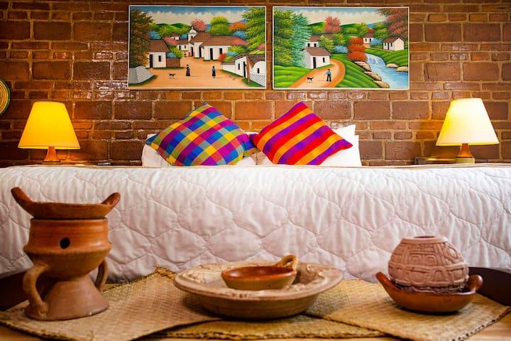 ¡Excelente habitación para turistas!