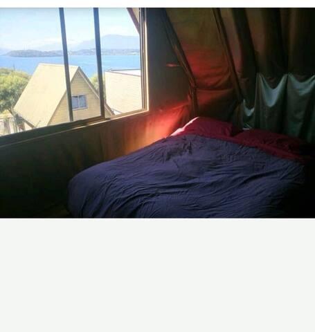 Bonita habitación con vista al lago - Panguipulli