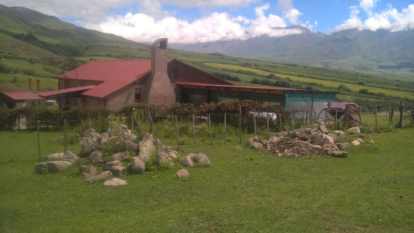 Casa de campo completa en el Valle de Tafí