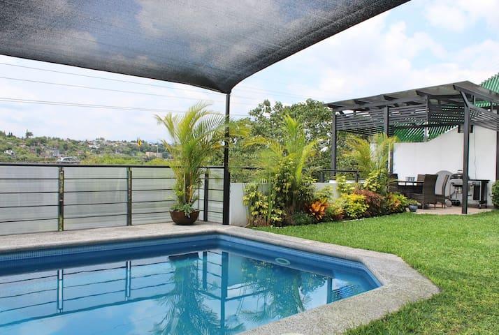 Increíble casa de verano en Temixco, Morelos