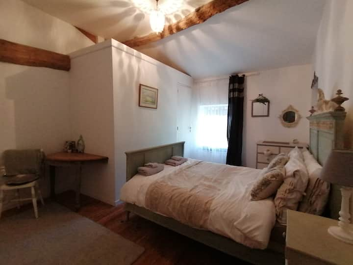 Double room in Annex, nr Ruffec, 5 minutes RN10