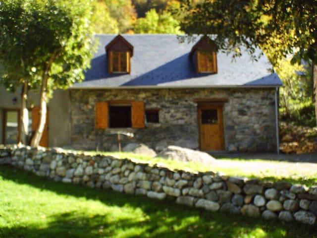 Grange rénovée en montagne - Beaudéan - Casa
