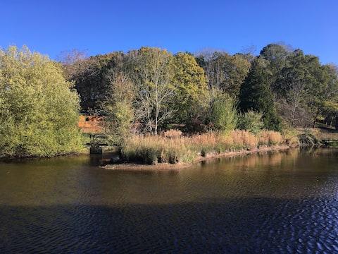 Deer Leap, Lakeside, Woodland Lodge.