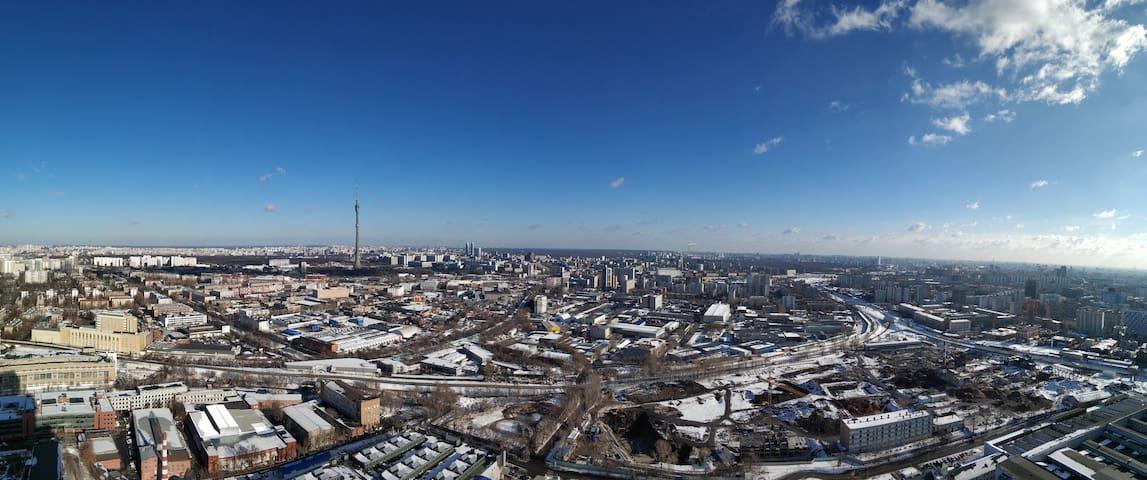 Это зимний вид из февраля 2019г.