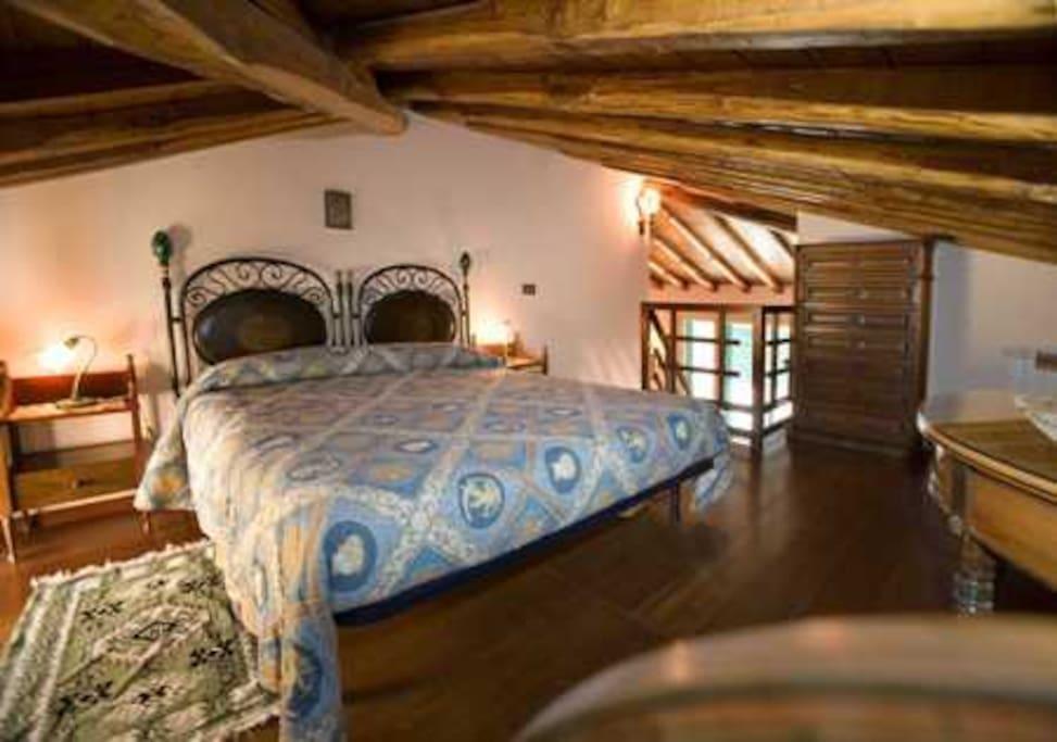 doublebedroom on mezzanine level