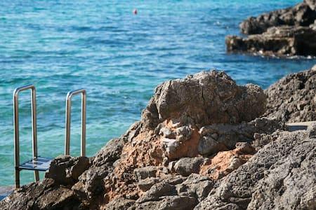 Mediterranean next to the sea