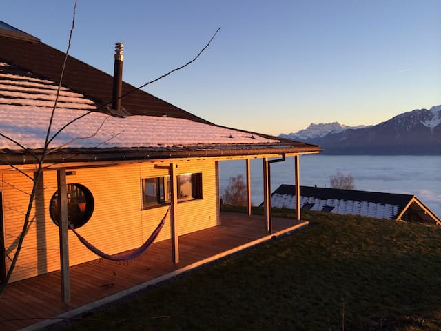 Design house with an amazing view - Chardonne
