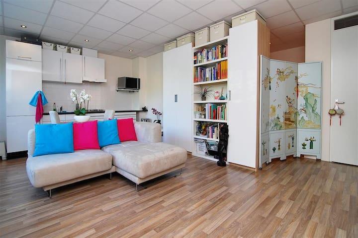 Cosy studio apartment - Hoofddorp - Apartamento