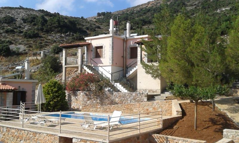 Sfakia Guest house-Ξενωνες Πανοραμα - Ασκύφου - 小平房