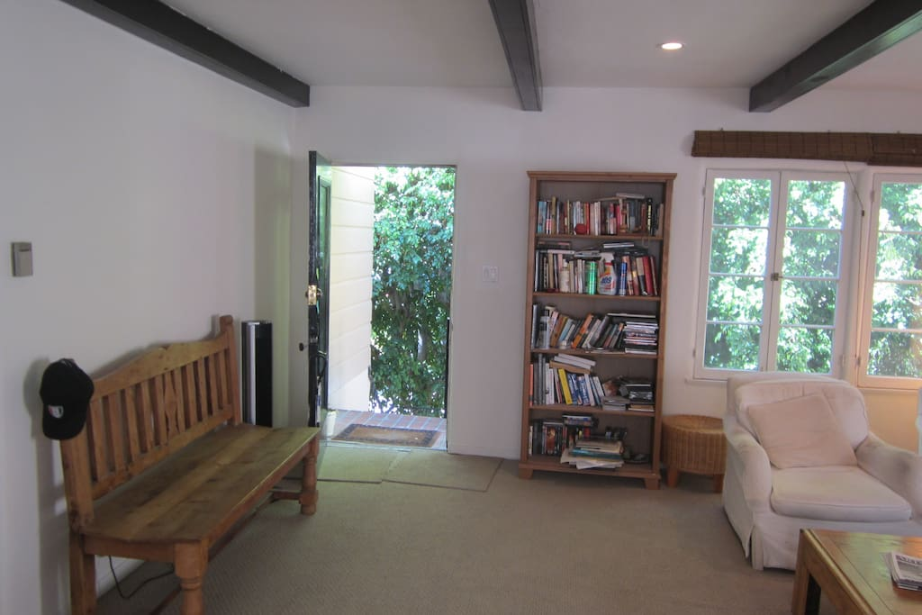 Sitting Room. Private entry way at the top of private staircase.