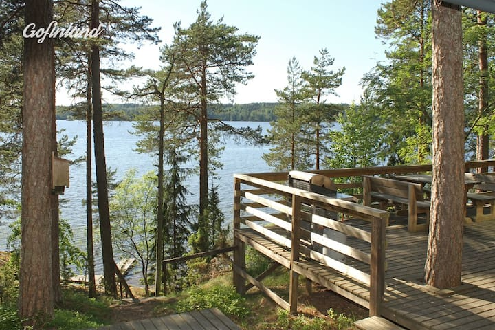 Männikkö - traditional mökki by lake Lohja