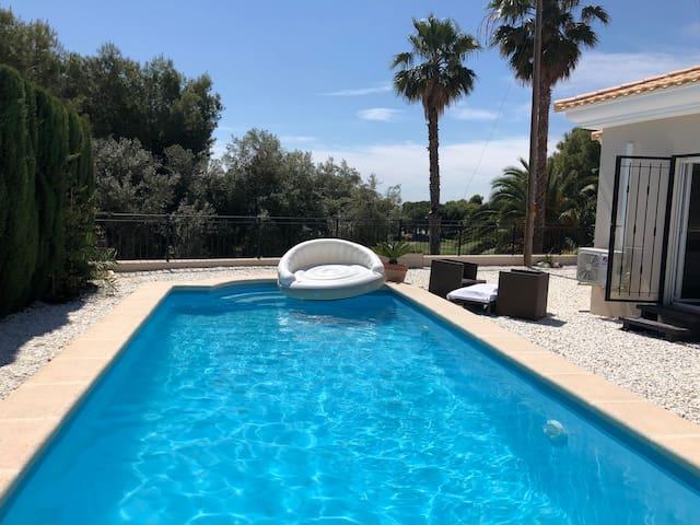 Alicante Seaview Villa Private Pool Hottub Massage