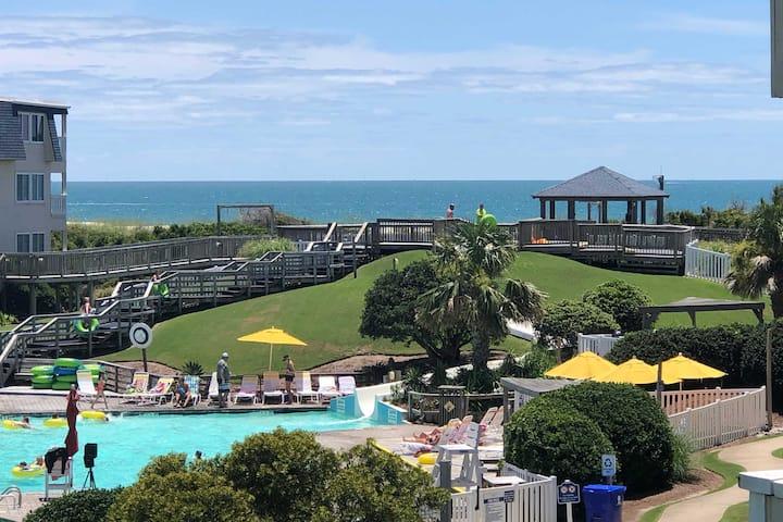 NEW! Oceanview Atlantic Beach Condo: Walk To Water