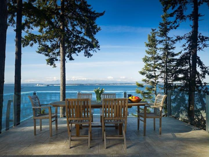 Whidbey Beachfront Luxury Compound