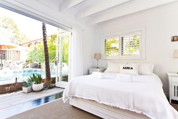 Poolside cabana - Palm Beach - Cabaña