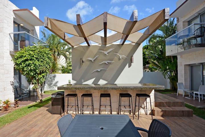 Garden Apartment Playacar