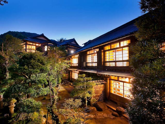 [Japanese Cultural Heritage]Izu Peninsula Traditional Ryokan! One Night Two Meal Plan【With meal】 1泊2食付【朝食・夕食付】 1박2식!!