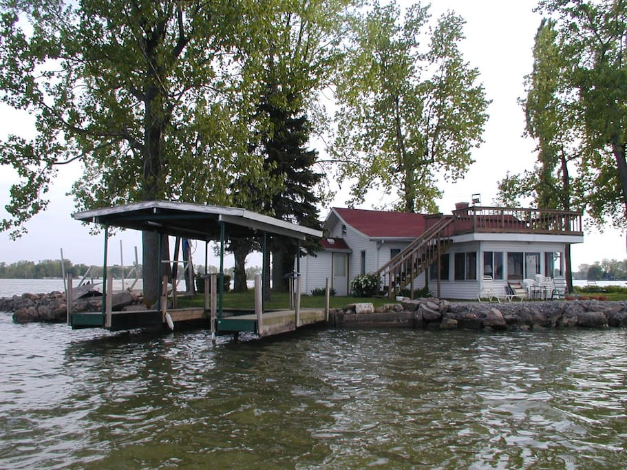 Island time on indian lake islands for rent in lakeview for Indian lake ohio fishing