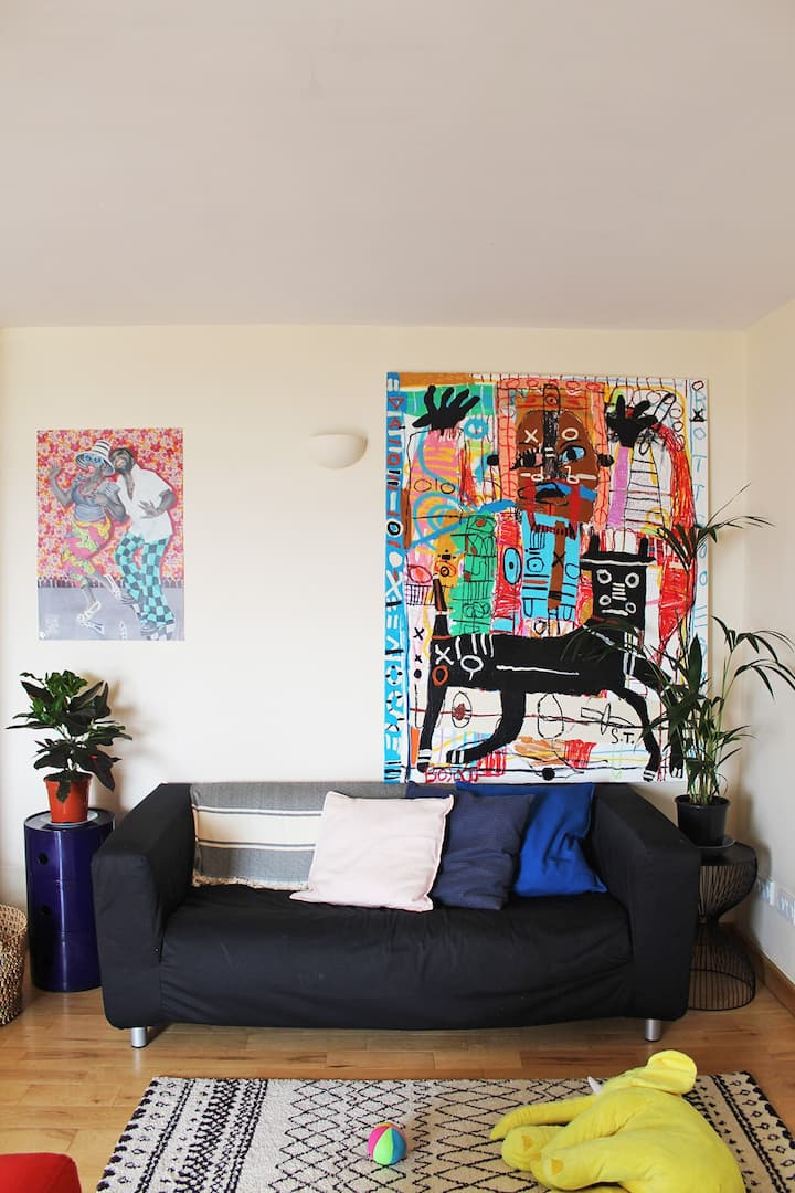 Bright affordable 1-bedroom in South London