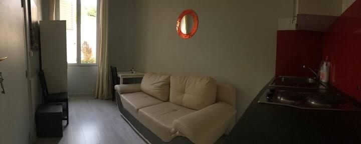 Studio chaleureux chez Matchaz'