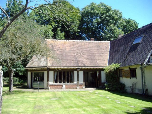 hedgehog close carriage house - Bertreville-Saint-Ouen - House
