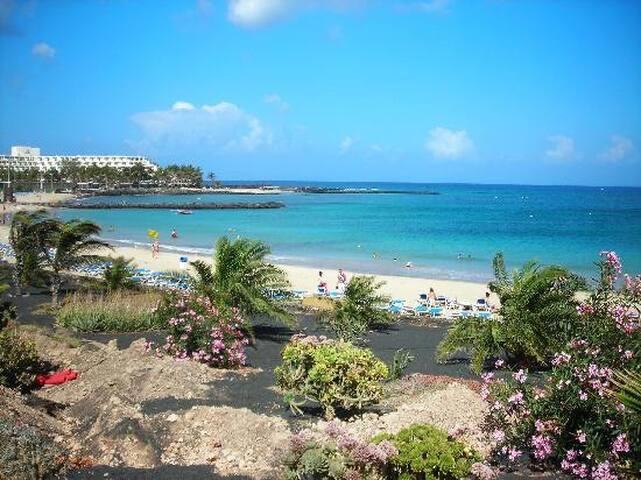 Playa de la cucharas at 600mt