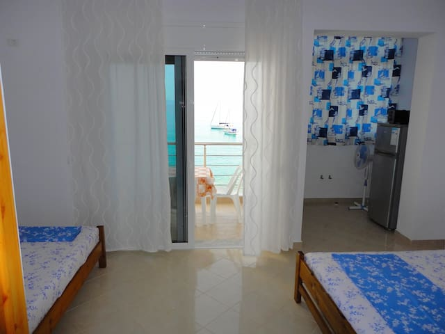 Triple Room with Sea View in SPIRO GUEST HOUSE