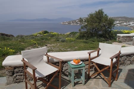 Aegean View Detached Apartment - Mykeny