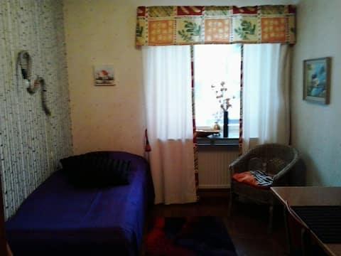Single room in central Umeå