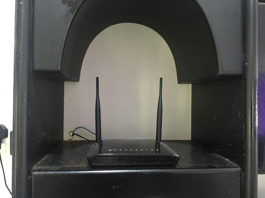 Wifi Streamyx 4mbs