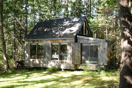 Peaceful & cozy waterfront cabin - Boothbay - Cabaña