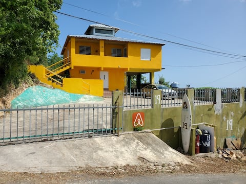 Basic family accommodations on NW Puerto Rico