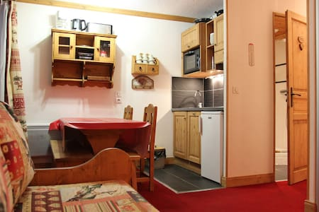 4 persons apartment, close to the slopes in a little residence
