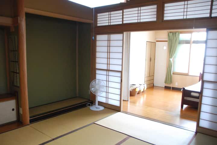 《2rooms/ 2F Western Room & Zashiki》Nakaroku Aoso