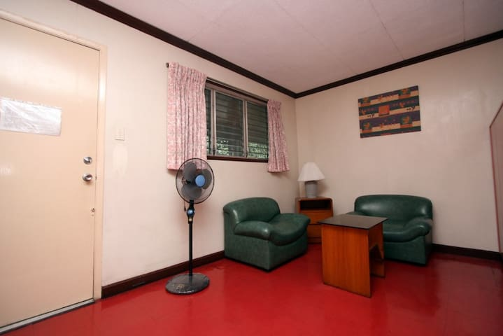 Studio unit living room