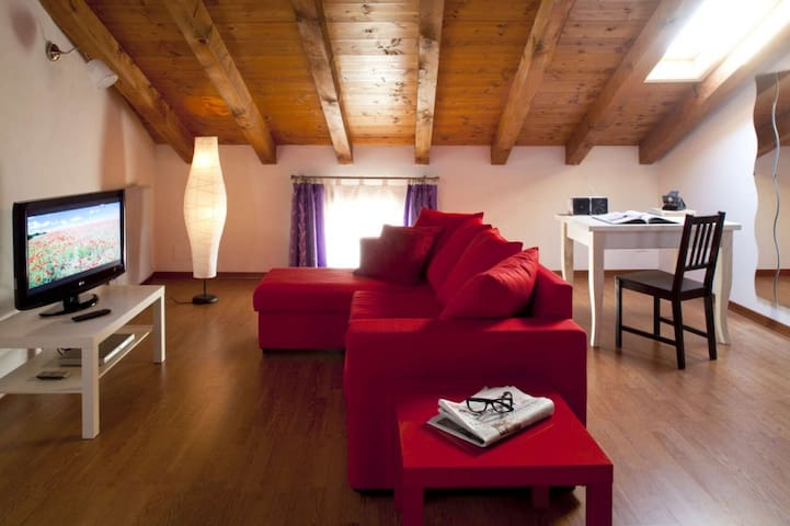 Attic suite - Giavera del Montello - Bed & Breakfast