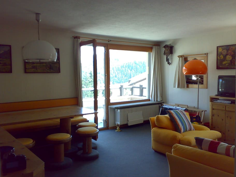 sitting room, dining area,  terrace