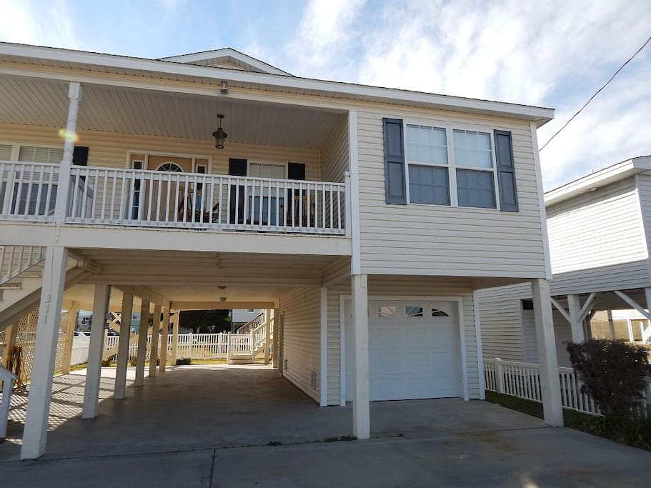 Cherry grove beach house houses for rent in north myrtle for Grove house