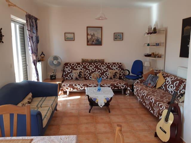 Ευχάριστο διαμέρισμα.