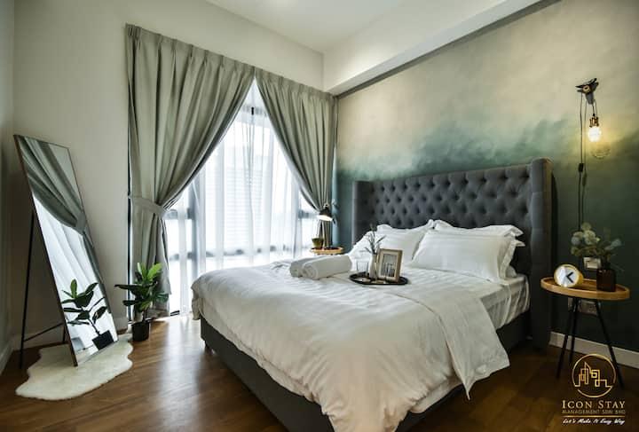 Kuala Lumpur KLCC 5pax 2R2B Luxury Icon Stay
