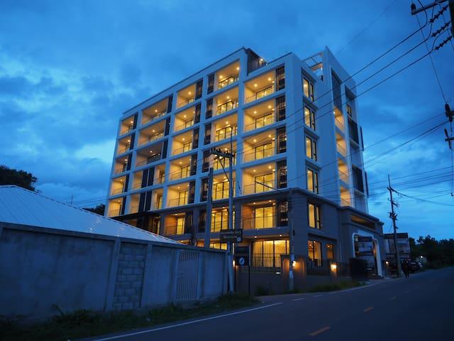 83m2 5 Star Apartment Living at Beach - Tambon Na Chom Thian - Кондоминиум