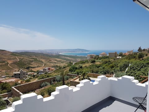 Villa with panoramic sea view / Private pool