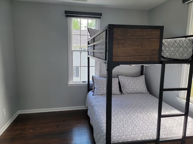 Bedroom #4 Bunk bed with 2 full mattresses (sleeps 4)