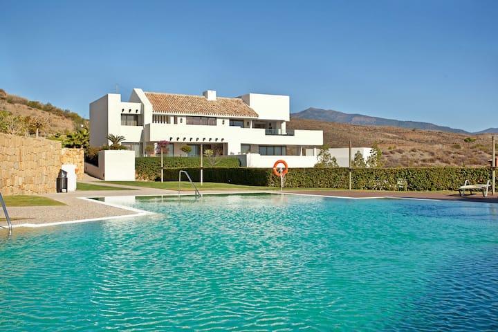 Marbella apartment with sea views
