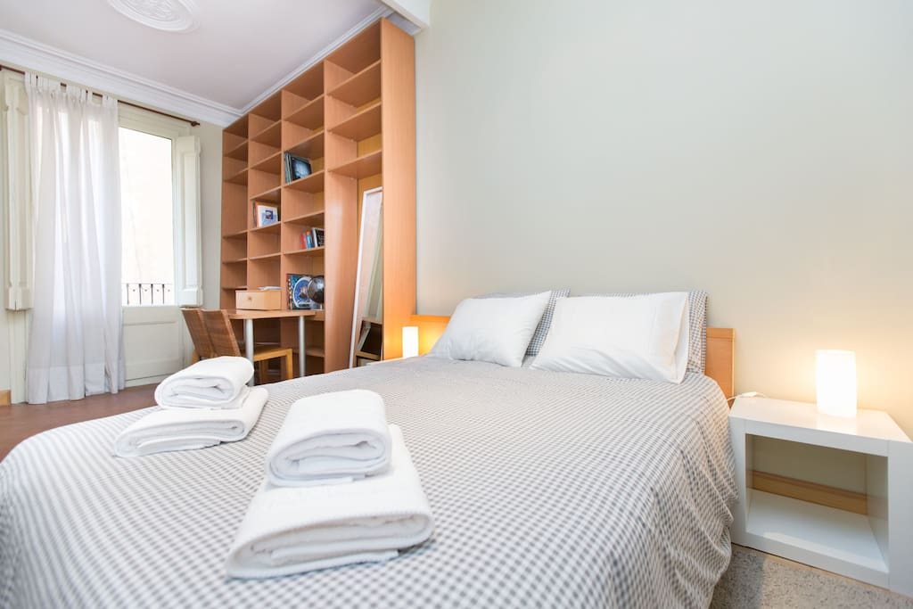 City center chambres d 39 h tes louer barcelone for Chambre hote espagne