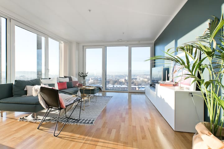 Unique apartment with stunning panoramic views!