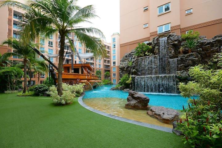 Motorbike Included Jomtien Atlantis - Jomtien Beach - Appartement